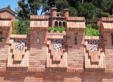 casa feta de totxos artesanals Bòbila Aguilera a Piera